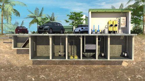 Wastewater Treatment Plants Underground Sewage Treatment