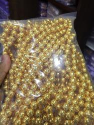 10 Mm Plin Plating Brass Beads