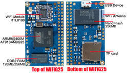 Low Cost Linux Embedded WiFi Module