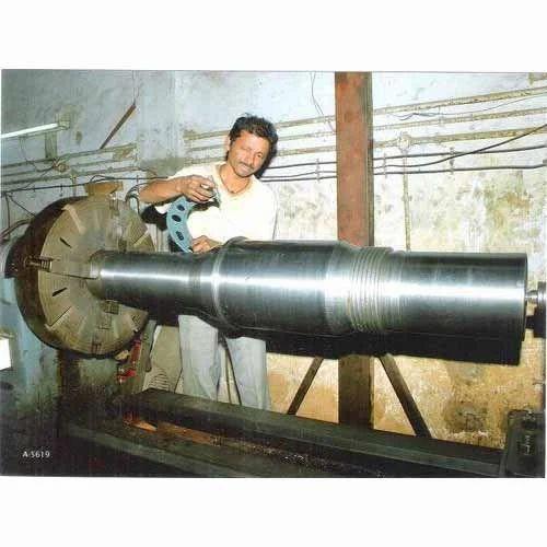 Lathe Machine Job Work Exporter From Vadodara