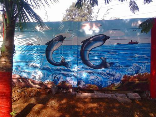 Retailer Of Indoor Wall Painting Outdoor Wall Painting By Ganpati