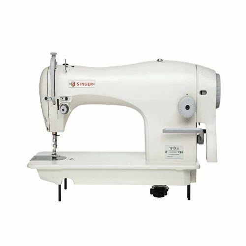 Auto Oil Semi Automatic Sewing Machine White Body Sewing Machine Classy Automatic Sewing Machine