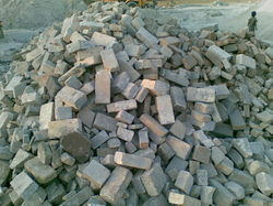 Rejected Refractory Bricks