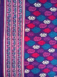 Stylish Panel Print Garment Fabric