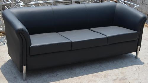 L Shape Columbia 3 Seater Office Sofa