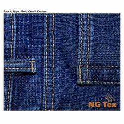 Multi Count Denim Fabric