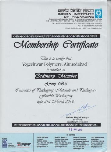certificate zoom iip