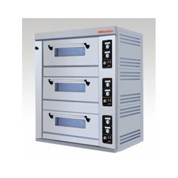 Gas Three Deck Oven