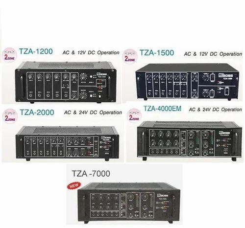 Pa System Amplifier Pa Two Zone Amplifier 100w To 1000w
