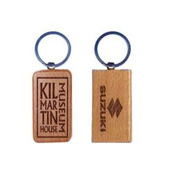 Wooden Key Rings