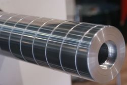 Aluminium Spiral Groove Guide Roller
