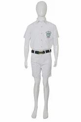 Puppet-Nx Summer Boys White School Uniform