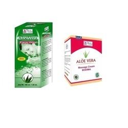 Aloe Vera Face Wash With Aloe Vera Massage Cream