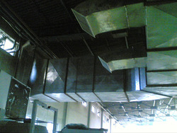 Ducting Close View