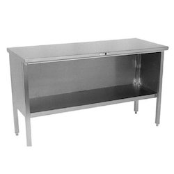 Stainless Steel Enclosed Work Table