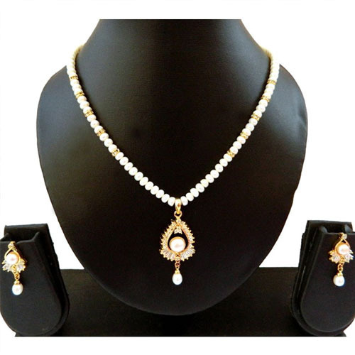 d955b87edacbe Pearl Necklace Set in Hyderabad, Telangana | Get Latest Price from ...