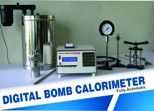 Bomb Calorimeter (Fully Automatic)