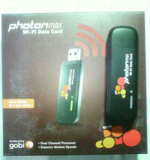 Tata Photon Max WiFi Prepaid | MTS Wifi Data Card | Service