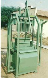 Vibrator Single Hollow Block Machine