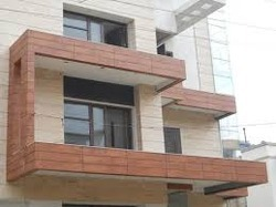 Exterior Wall Cladding Services in India