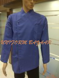 Blue Coloured Chef Coat - CU-25