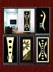 Multicolor Wood Laminate Printed Doors