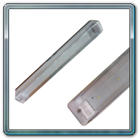 Aluminium LED Emergency Lights - 1 Feet, Table Top