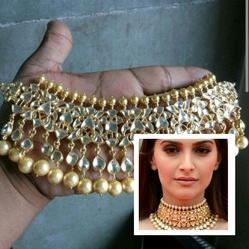 22ct Gold Plated Kundan Necklace