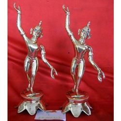 Silver Iskcon Mahaprabhu Ji Statue