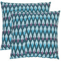 Pure Cotton Ikat Cushion Cover