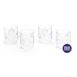 poly carbonate Transparent Vintage Tumbler, For Restaurant, Capacity: 300 Ml