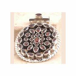 Exquisite Garnet Pendant