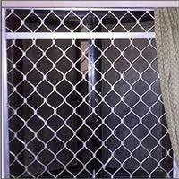 Aluminium Galvanized Aluminum Window Grill, Rectangle