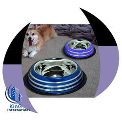 Belly W Color Etched Lines Pet Bowl