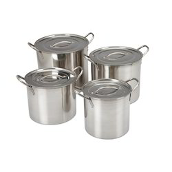 Stainless Steel Stock Pots with Lid