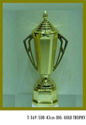 43 cm Gold Plated Trophy Cup