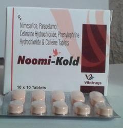Nimesulide & Cetirizine Paracetamol Tablets