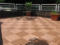WPC Outdoor Decking Tiles