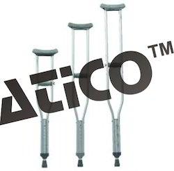 Under Arm Crutches Aluminium