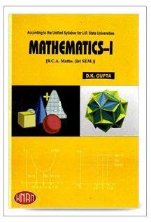 BBA MBA BCA MVA Books - Mathematics - I For Bca Maths (ist