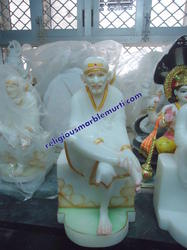 Marble Lord Sai Statue