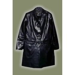 Black Leather Long Coats
