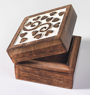 Wood Carved Jewellery Boxes View Specifications Details of