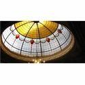 Sky Light Curve Glass Dome
