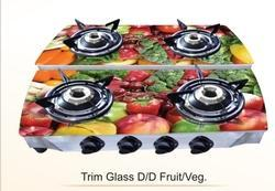 Four Burner Glass D/D DIGITAL