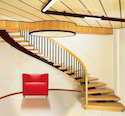 Panel Stainless Steel Interior Staircase Design Railing