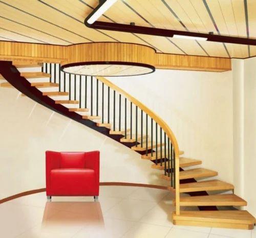Bar Cable UPVC Aluminium Interior Staircase Design Railing Rs