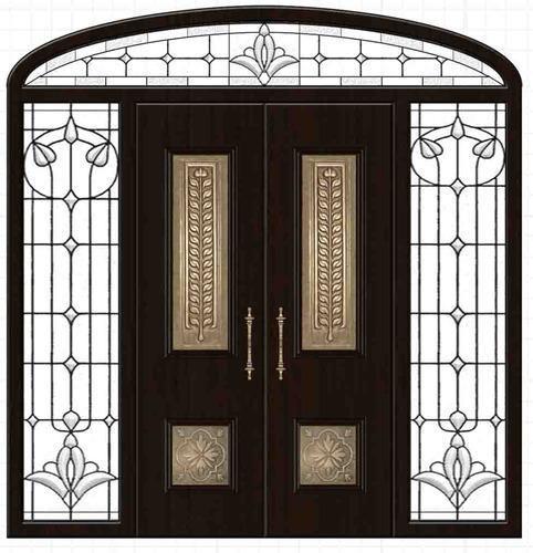 Design Brass Door  sc 1 st  IndiaMART & Design Brass Door brass metal door - Artistic Art Forum Private ...