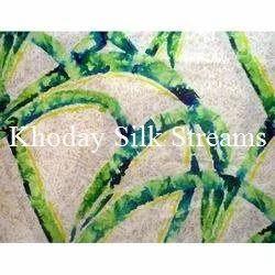 Classic Printed Silk Fabric