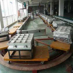 Inverted Floor Chain Conveyor
